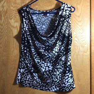 Beechers Brook Droop Neck Tank Top